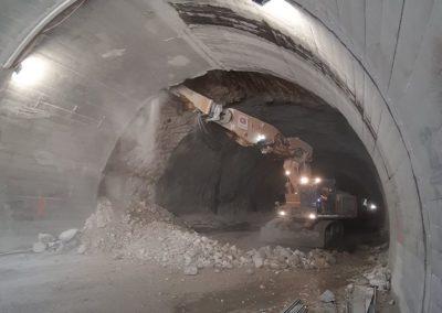 Pelleteuse 10 tonnes démolition